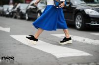 bright blue skirt @ nssmag.com