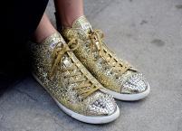golden miu miu studded shoe @ nyccurbappeal.com