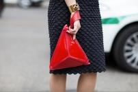 red triangle clutch bag @ stylesociety.co.za