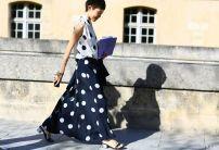 polka dot print @ thehipcloset.blogs.elle.es