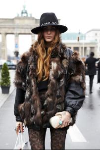 vintage fur coat @ fashionmagazine.com
