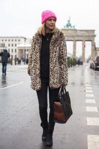 leopard fur coat @ glamour.de