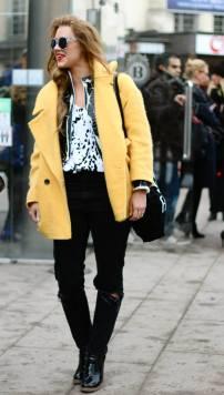yellow jacket @ MBFW Stockholm