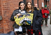 Jeremy Scott x Longchamp bag @ vogue.com