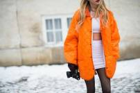 bright orange jacket @ le-21eme.com