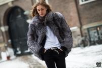 silver fox fur coat @ le-21eme.com