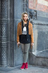 fringe jacket @ style.com