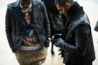 bikers jackets & leopard print @ wmagazine.com