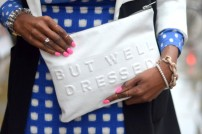 stressed but well dressed clutch @ epiphanniea.co.uk