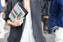 white clutch bag @ thefashionservice.com