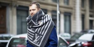 louis vuitton blanket scarf @ highsnobiety.com